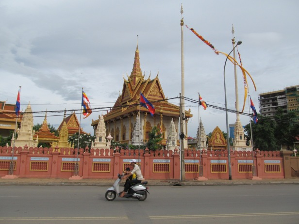 Temples in Cambodia and works-based religion