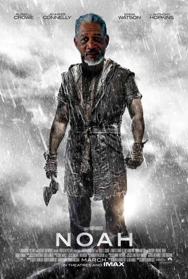 Morgan Freeman in Noah Almighty
