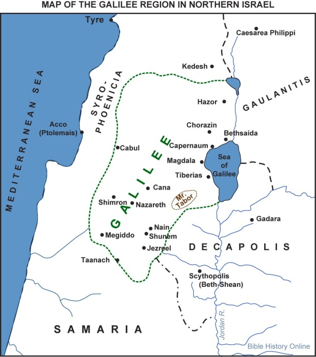If Bethany beyond the Jordan was located on the north side of the Sea of Galilee near Bethsaida (the town where Philip, Andrew, and Peter were from), the geography and chronology can make sense.