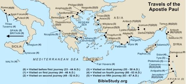An analysis of the story of saint paul a christian apostle Custom