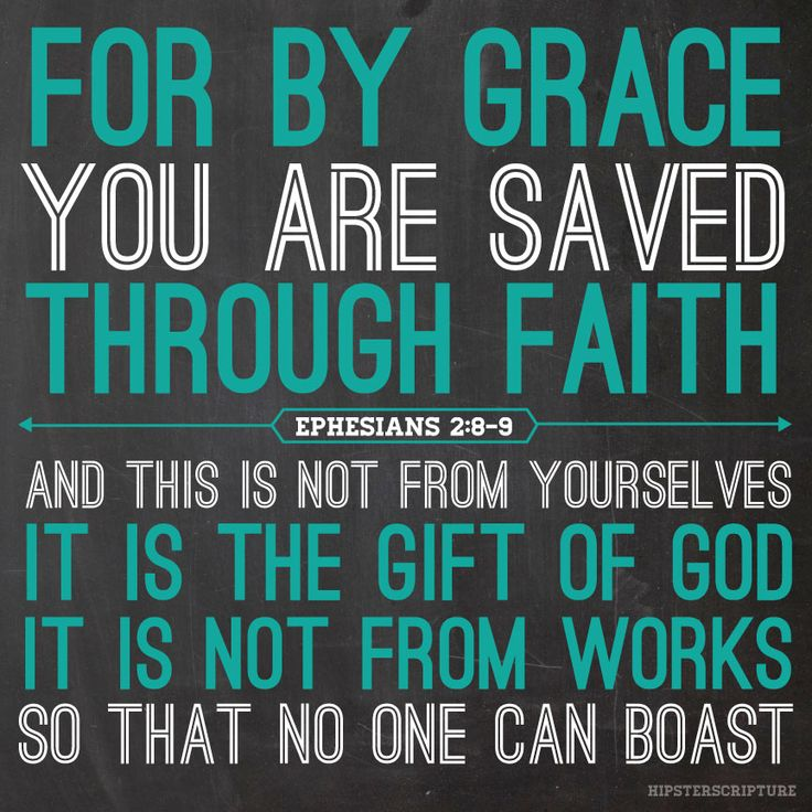 Salvation By Grace Through Faith and Union With Christ